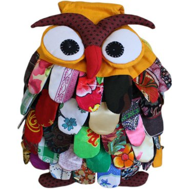 Large Owl Bag Pack