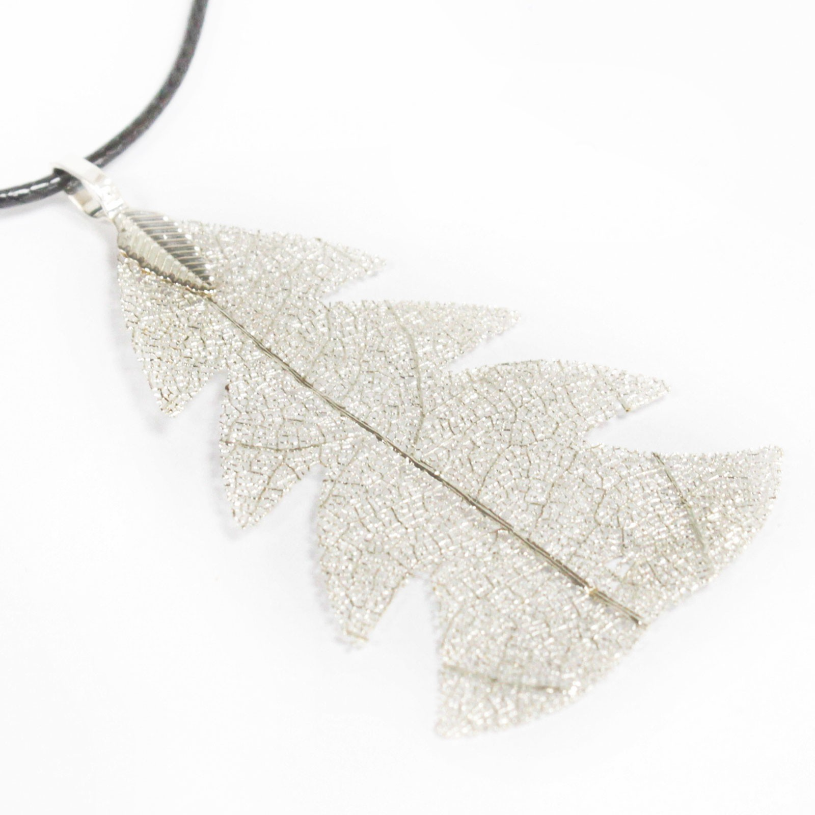 Necklace - Festive Fir - Silver