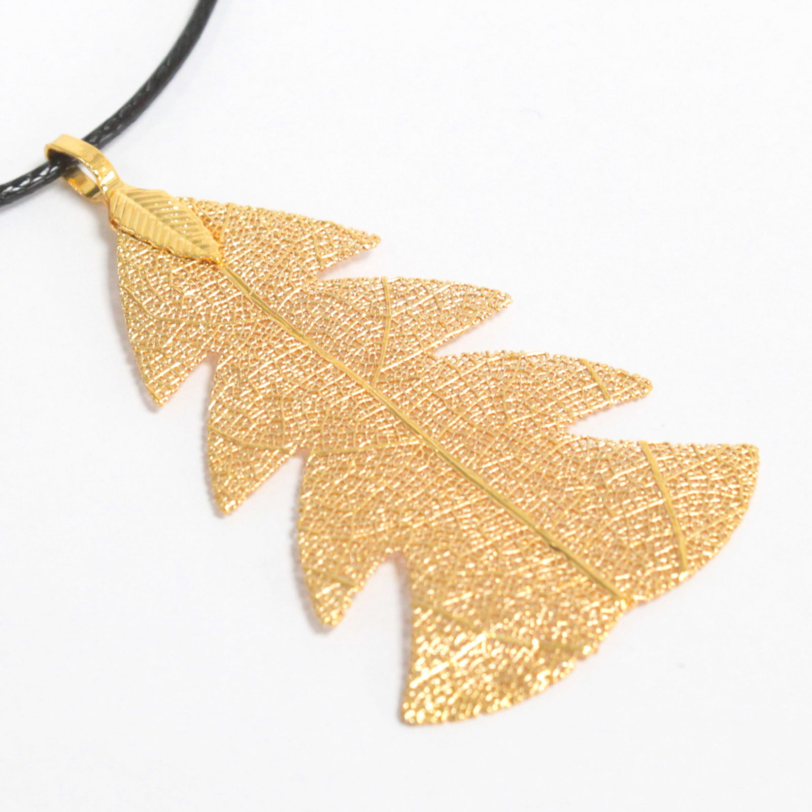 Necklace - Festive Fir - Gold