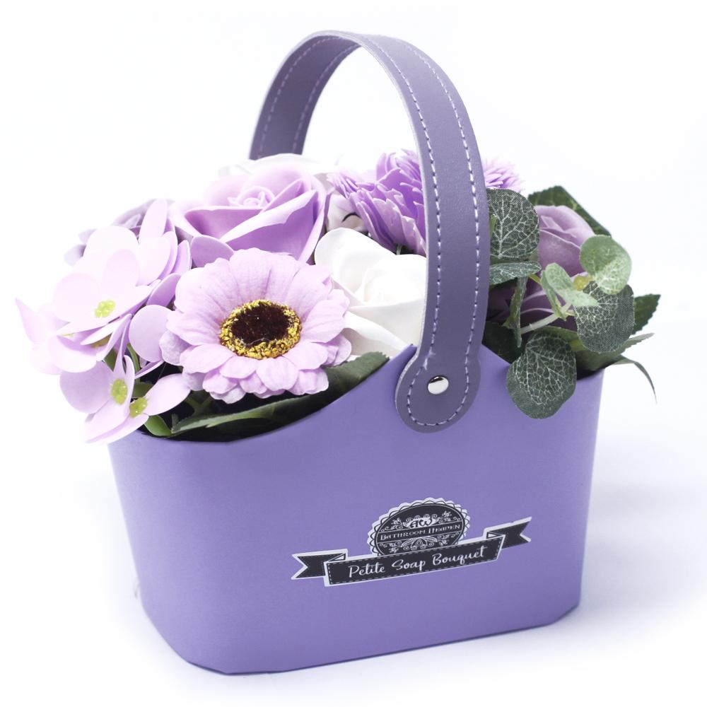 Bouquet Petite Basket - Soft Lavender