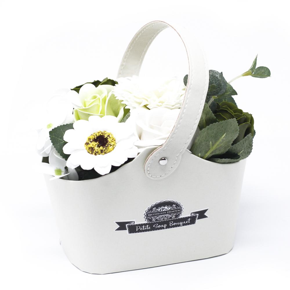 Bouquet Petite Basket - Pastel Green