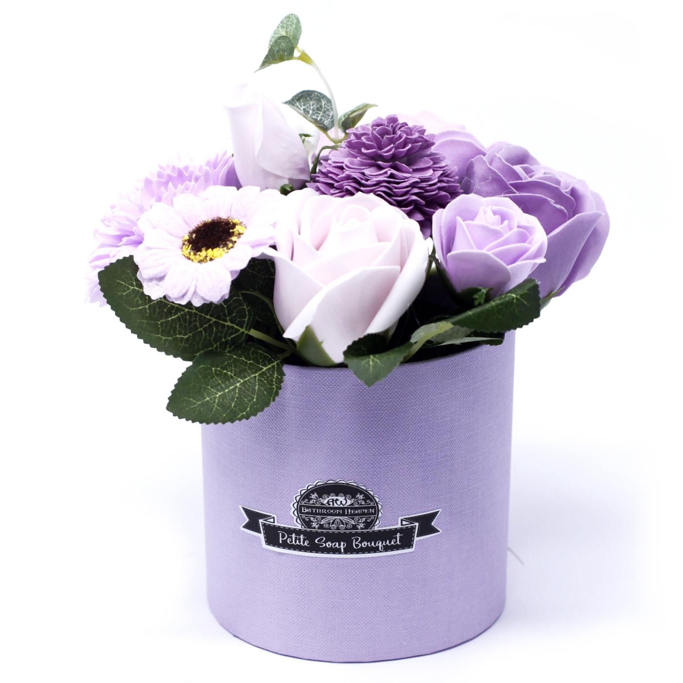 Bouquet Petite Gift Pot- Soft Lavender