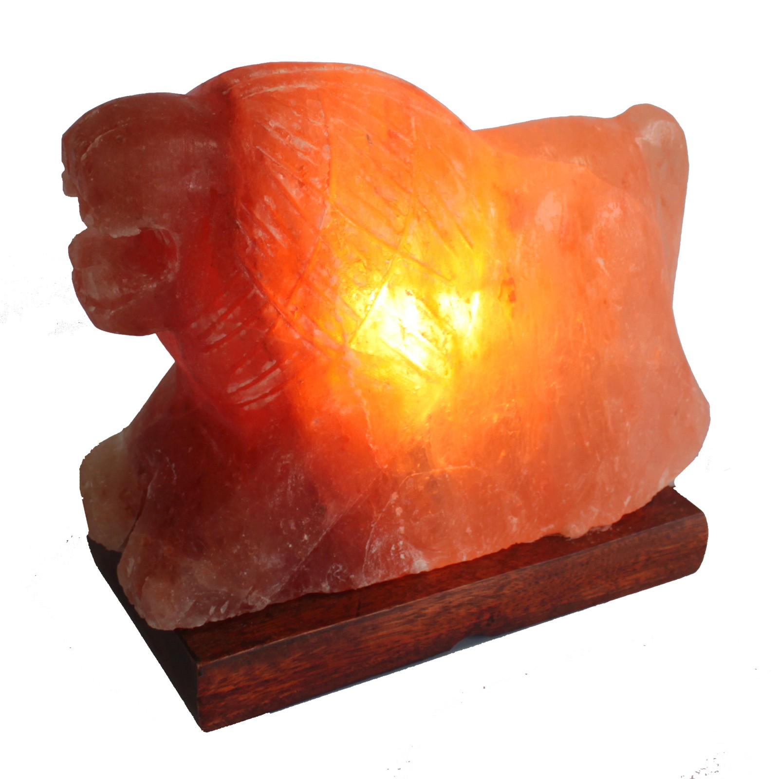 Animal salt Lamp - Lion 3-4kg