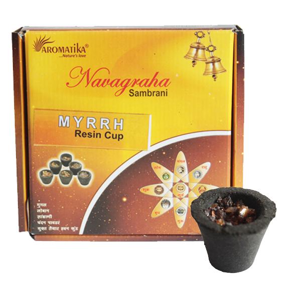Box of 12 Resin Cups - Myrrh