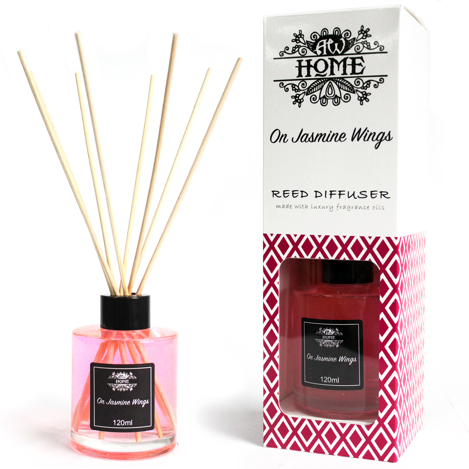 120ml Reed Diffuser - On Jasmine Wings