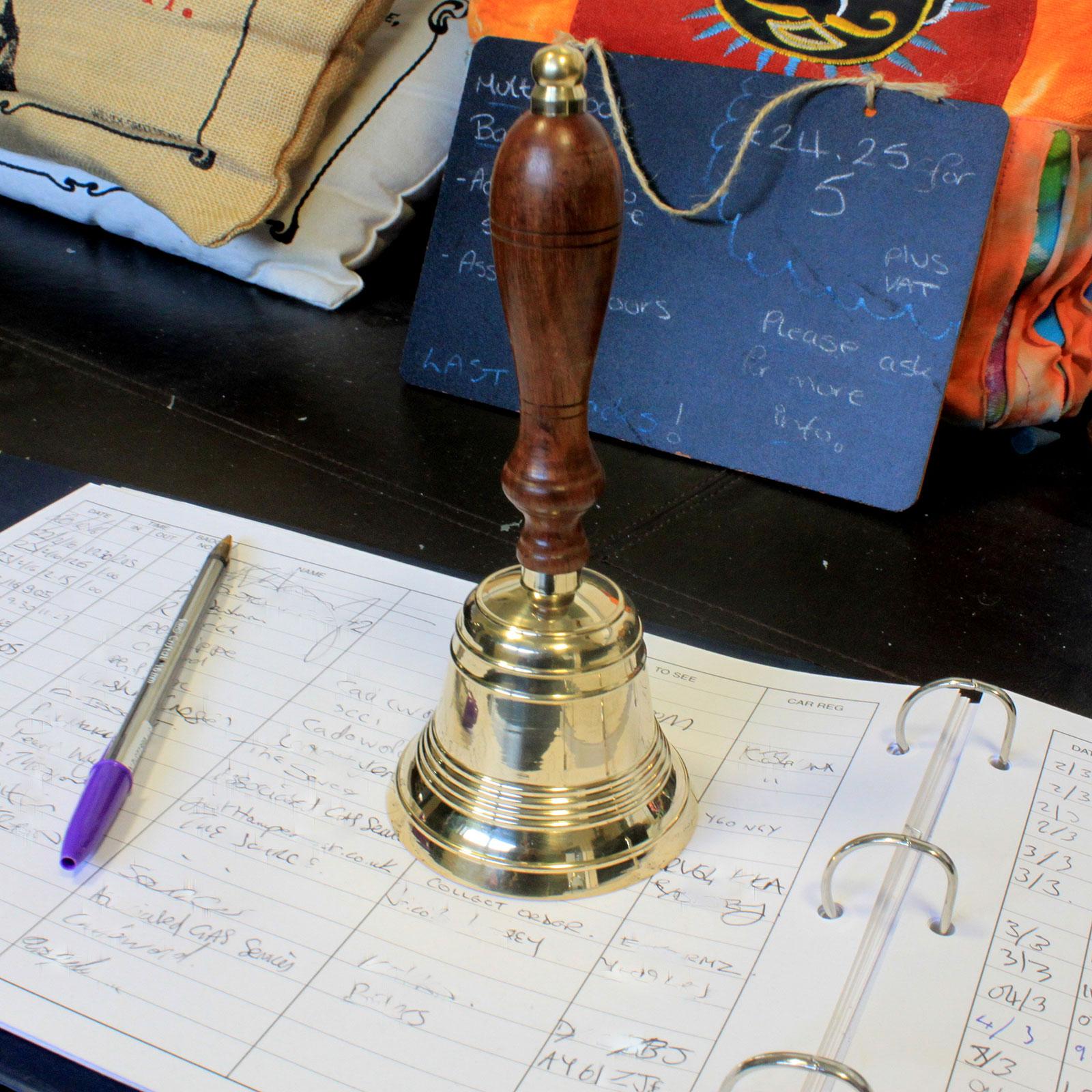 Simple Brass Hand Bell
