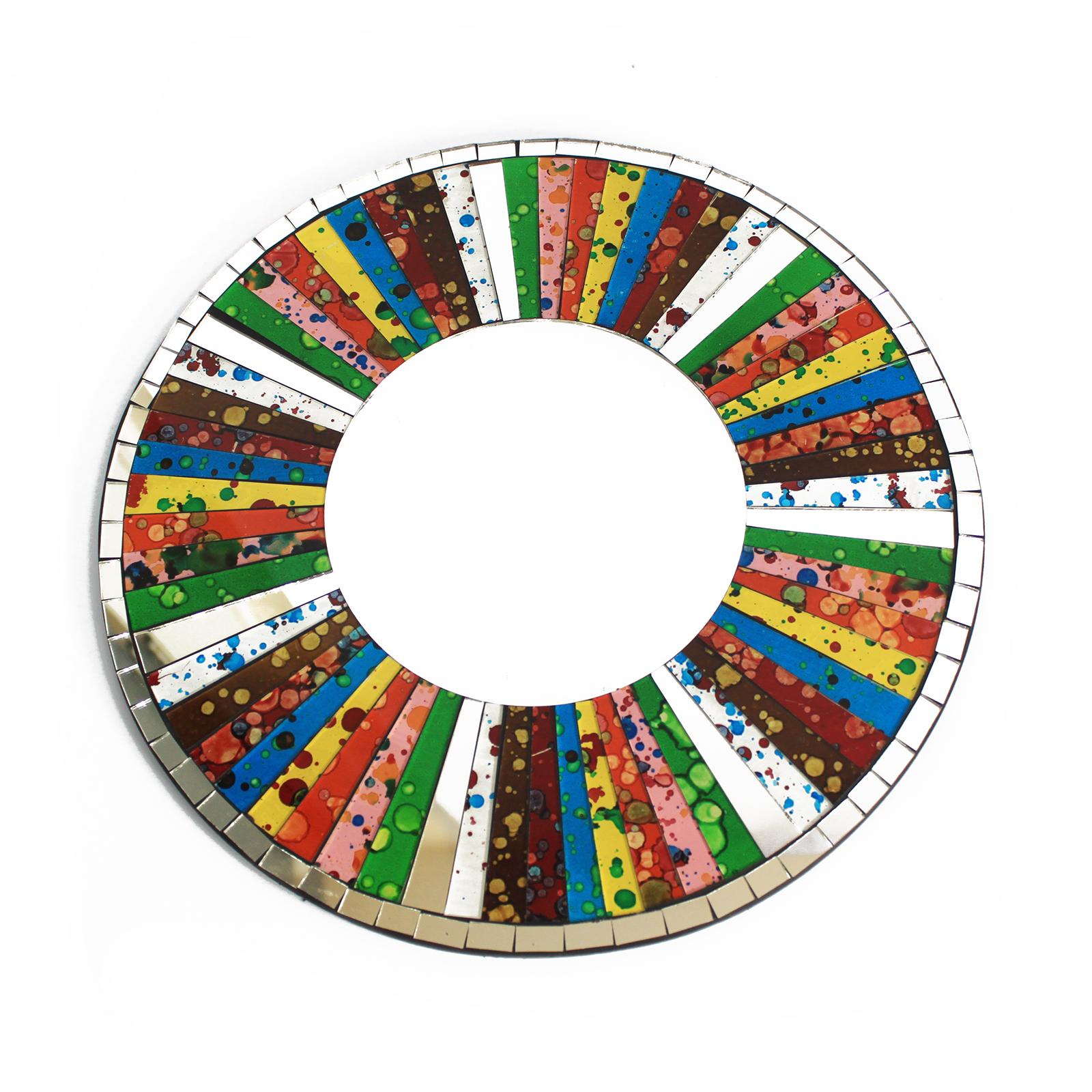 2x Classic Round Rainbow - 30cm