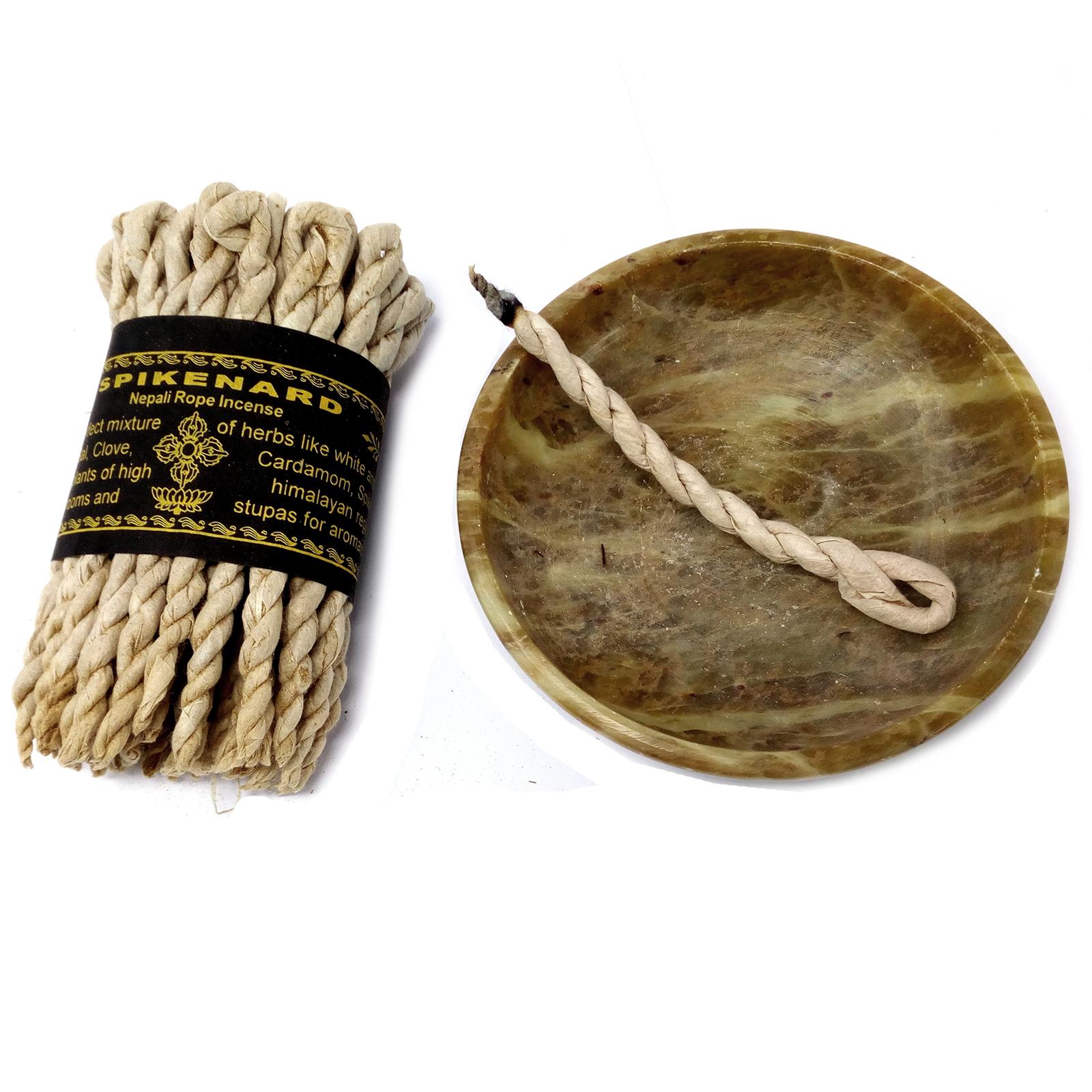 Pure Herbs Spikenard Rope Incense