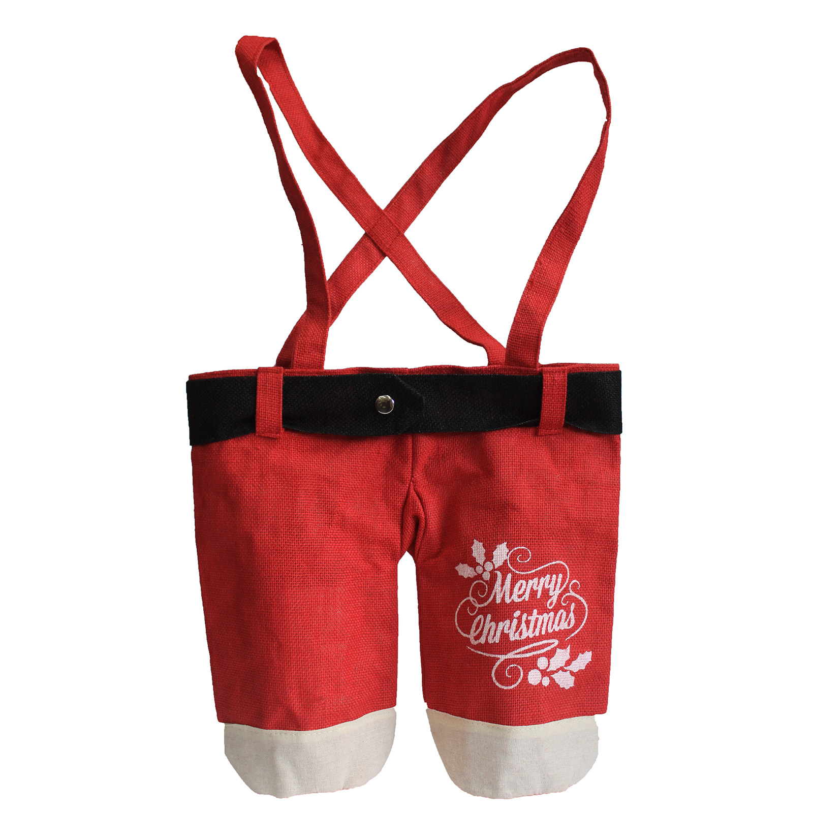 1x Santa Pants - Red