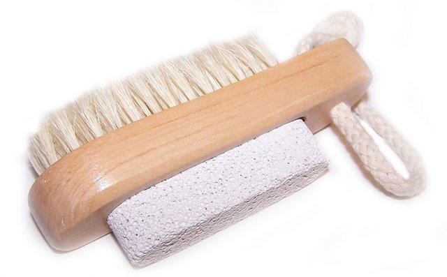 Scrub & Scrape - Brush & Stone