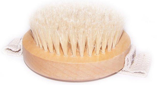 Hand Grip Body Scrub Brush