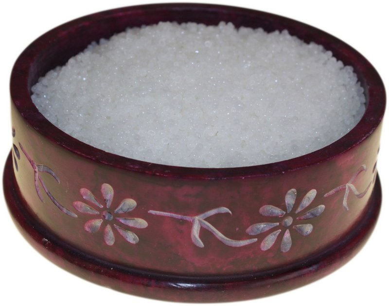 Coconut Simmering Granules 200g bag (Hint of Pink)