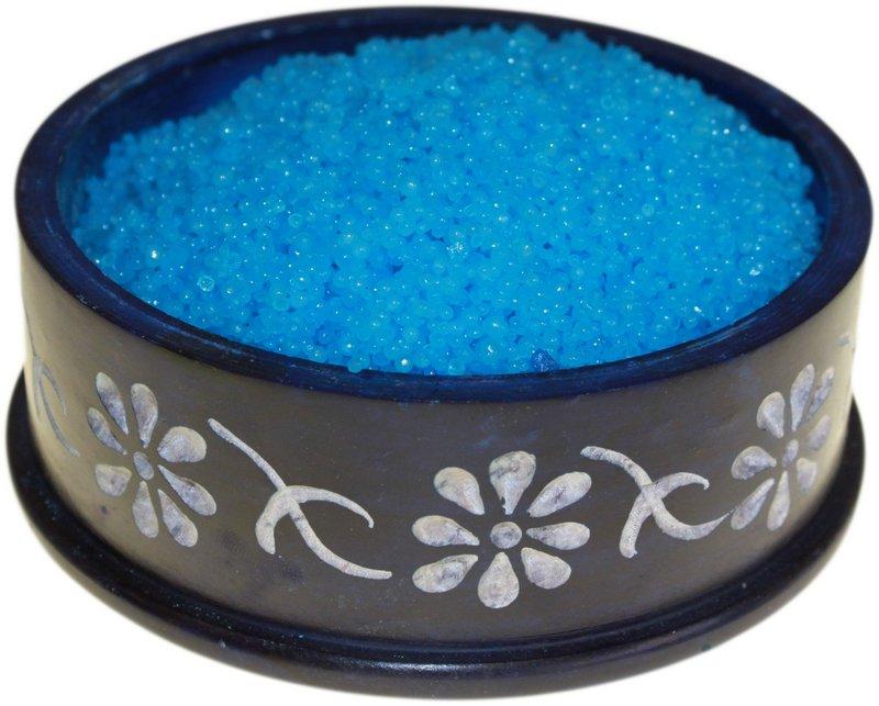 Nag Champa Simmering Granules 200g bag (Blue)