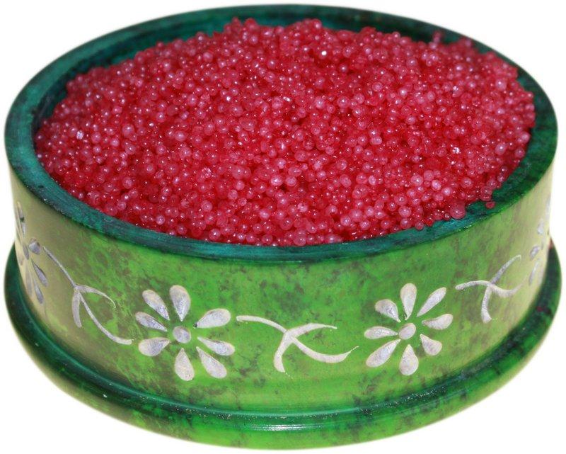 Rose Musk Simmering Granules 200g bag (Red)