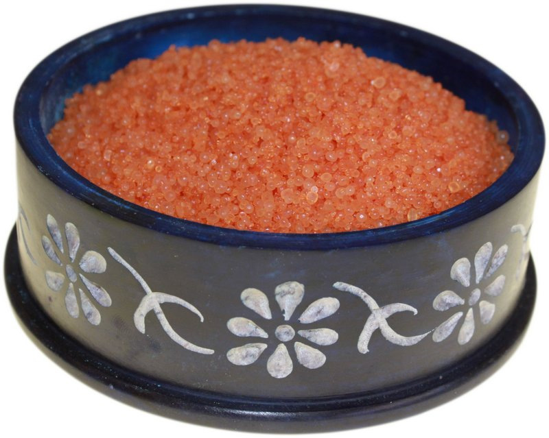 Christmas Myrrh Simmering Granules 200g bag (Orange/Brown)