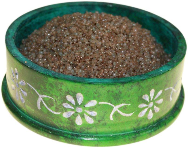 Christmas Sandalwood Simmering Granules 200g bag (Brown)