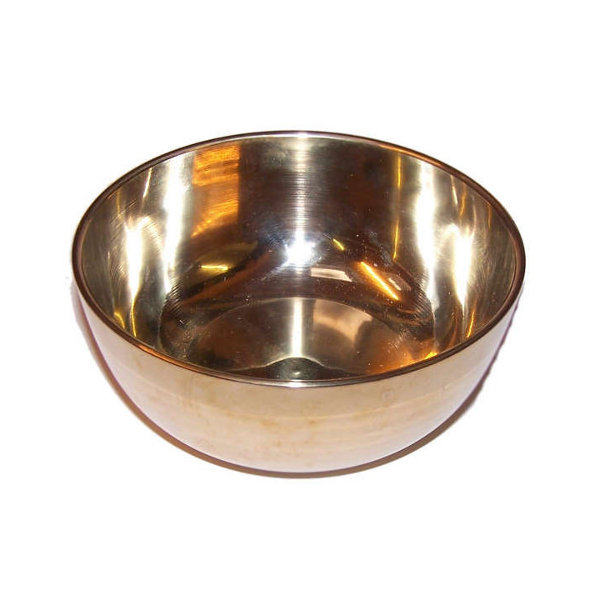 Brass Sing Bowl - Medium - Approx 12cm