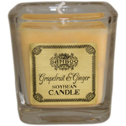 Soyabean Jar Candle - Grapefruit & Ginger