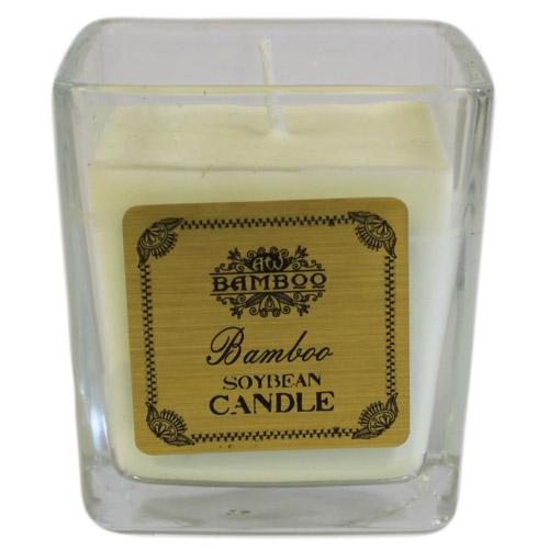 Soyabean Jar Candle - Bamboo