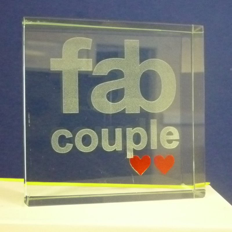 Message Block - Fab Couple