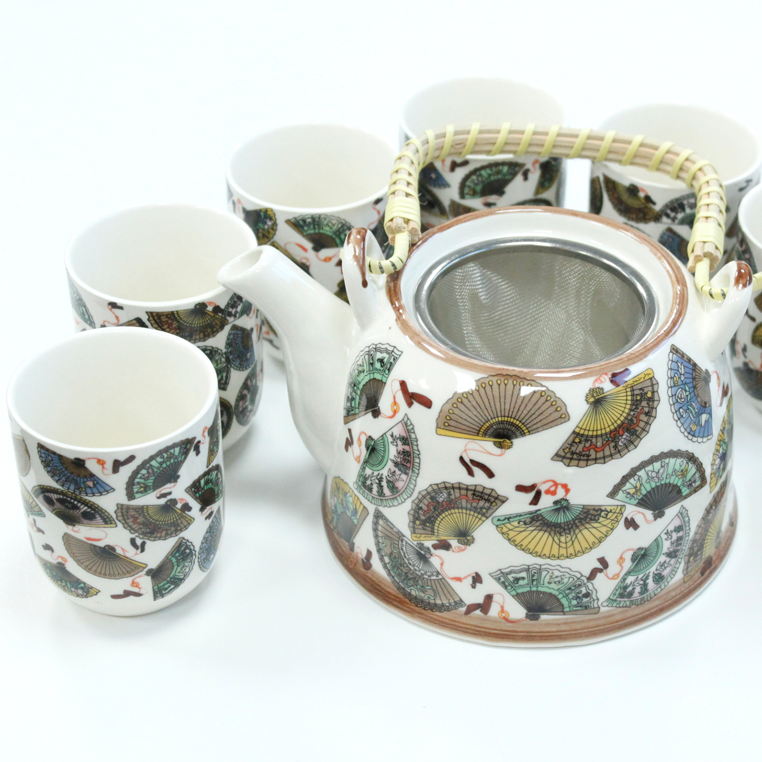 Herbal Teapot Set - China Fans