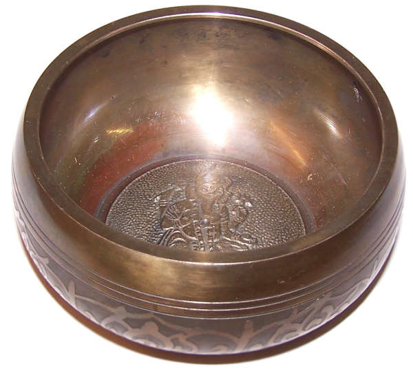 Large Ganesh Singing Bowl - Appr 100mm