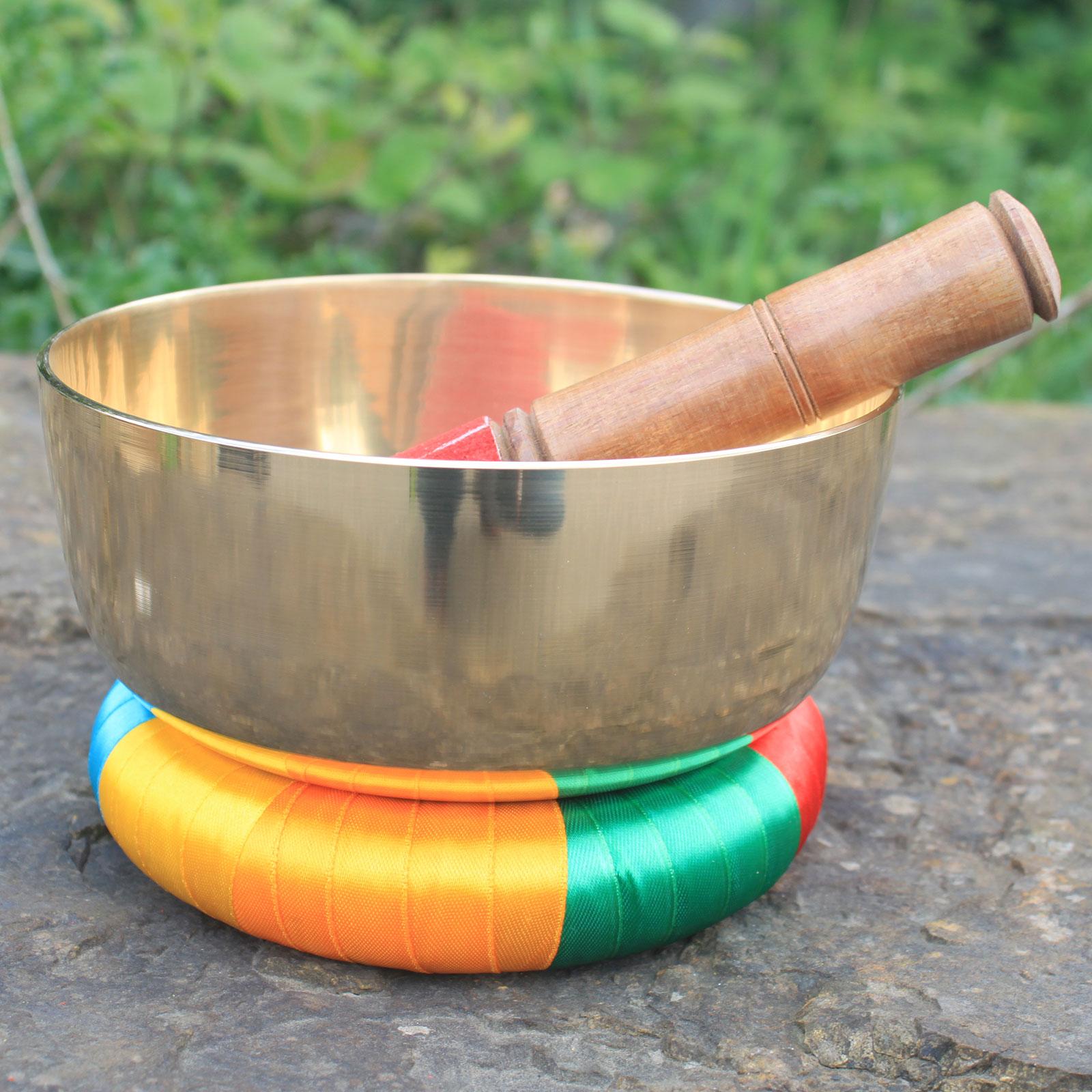 17cm Brass Singing Bowl Set