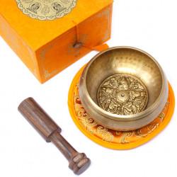 Five Buddha Singing Bowl Set 10cm