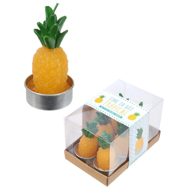 Tea Light Candles - Pineapple