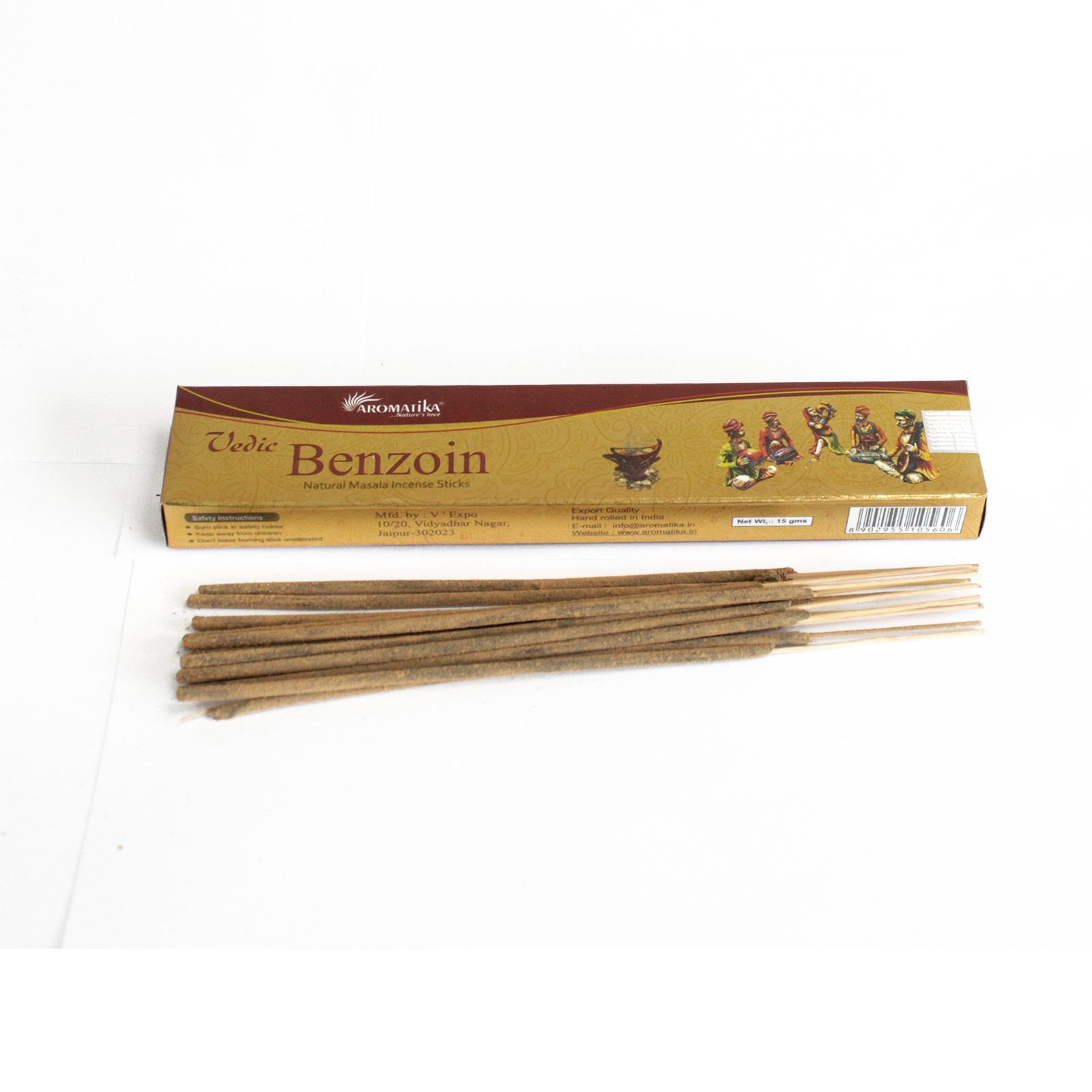 Vedic - Incense Sticks - Benzoin