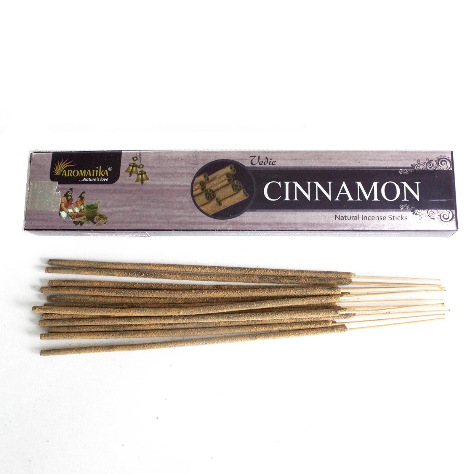 Vedic -Incense Sticks - Cinnamon