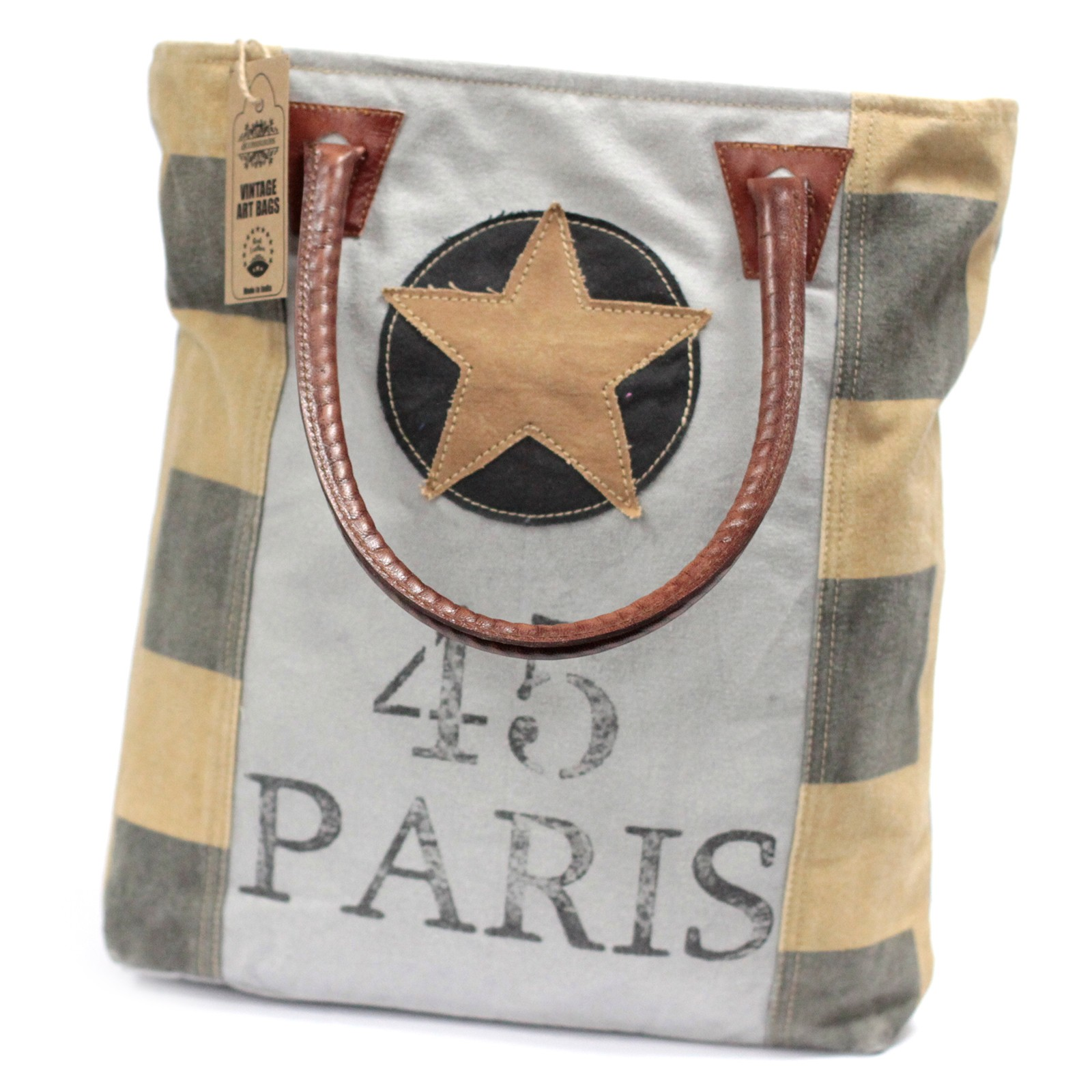 Vintage Bag - Paris Star
