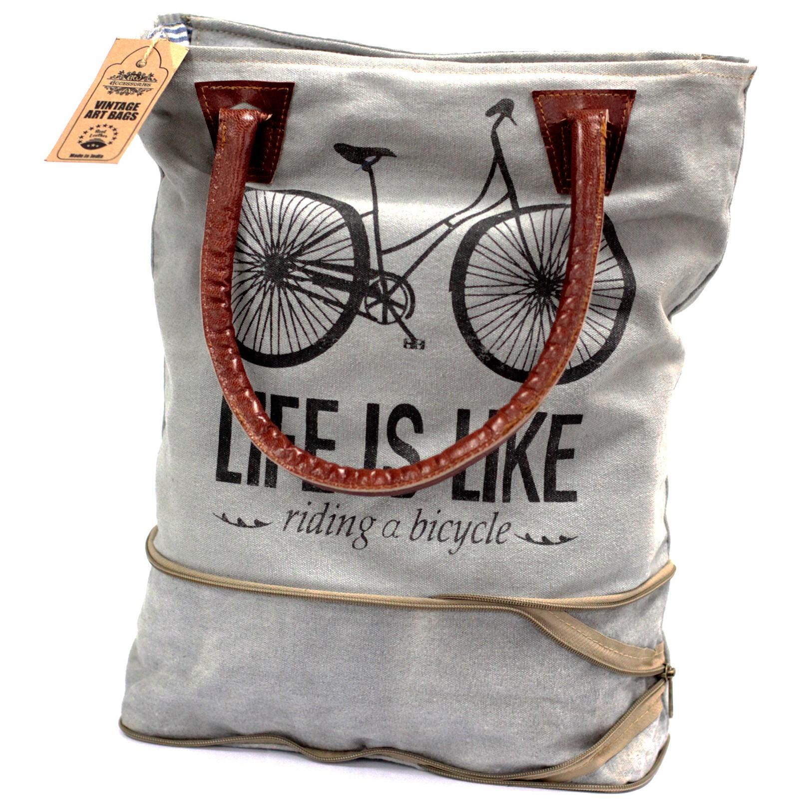 Vintage Bag - Bicycle-Expandable