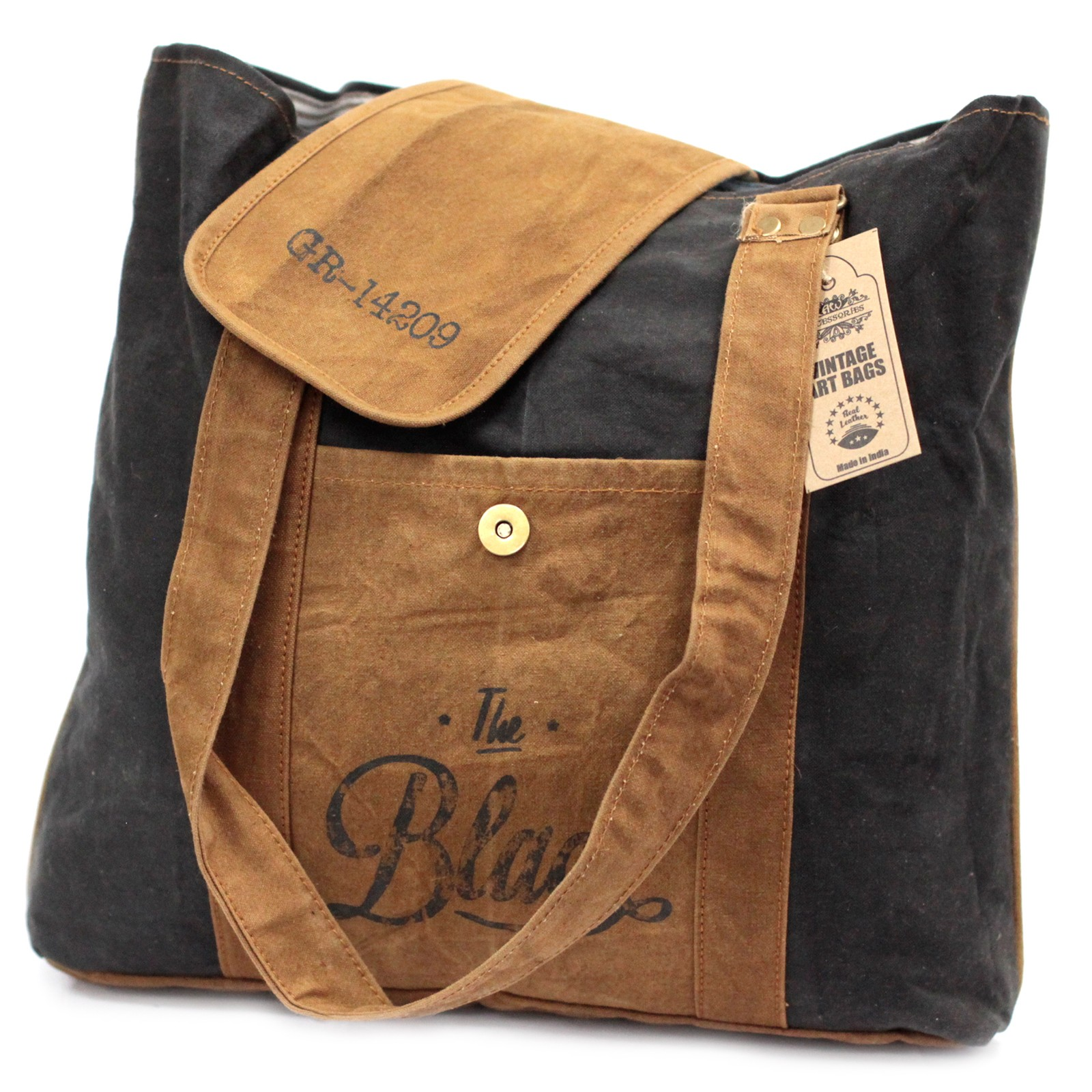 Vintage Bag - The Black