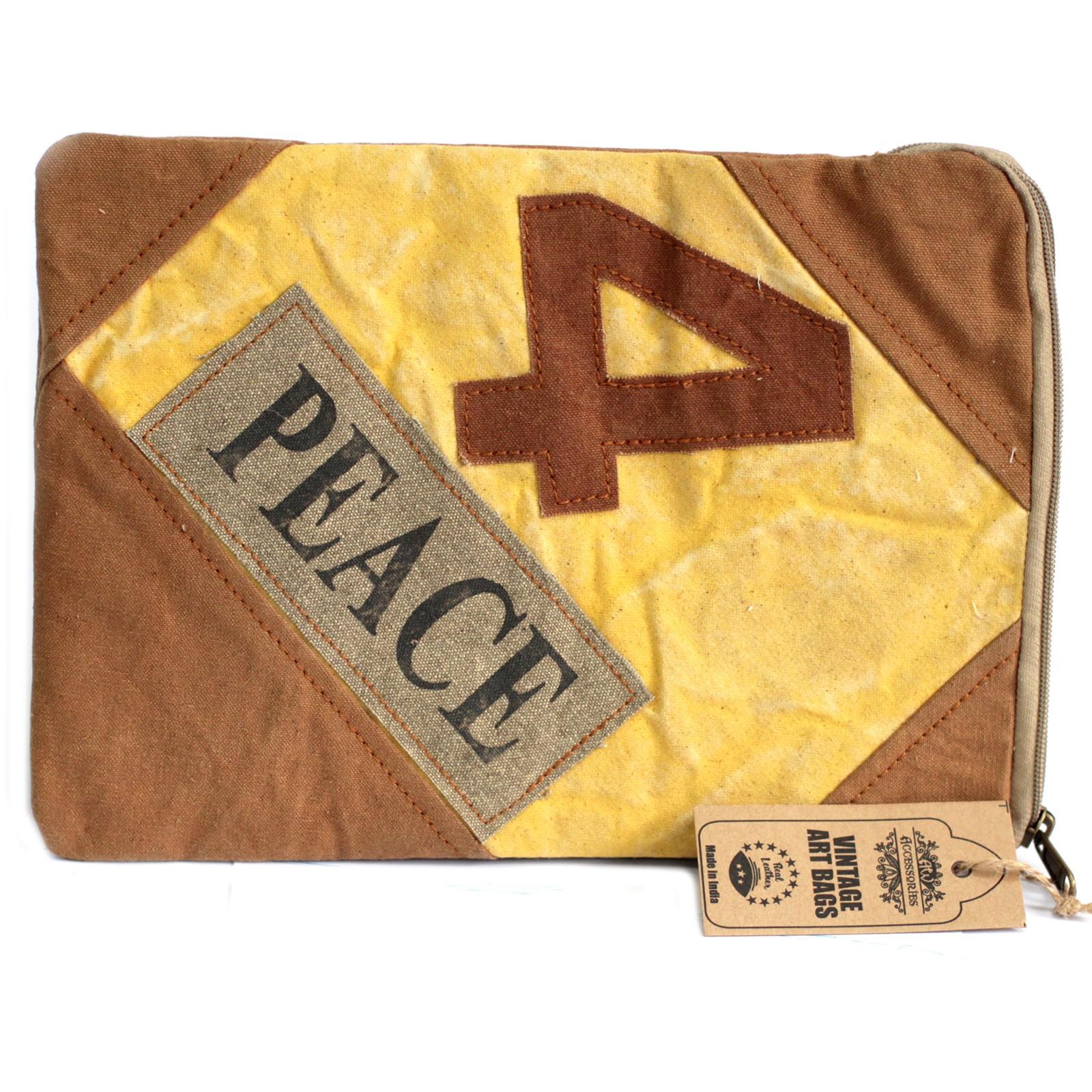 Vintage Bag - Tablet Pouch-4 Peace