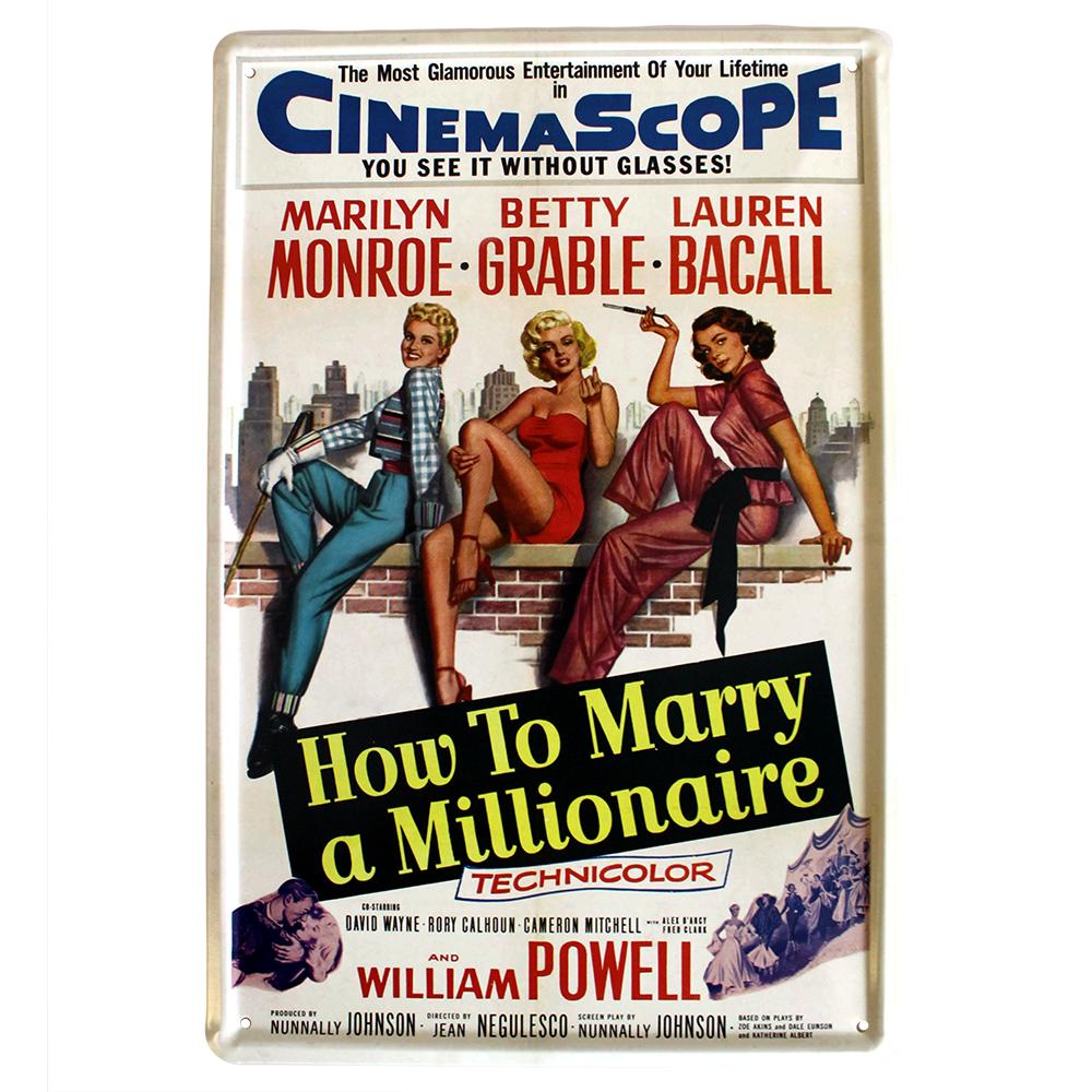 Metal Plaque - How to Marry