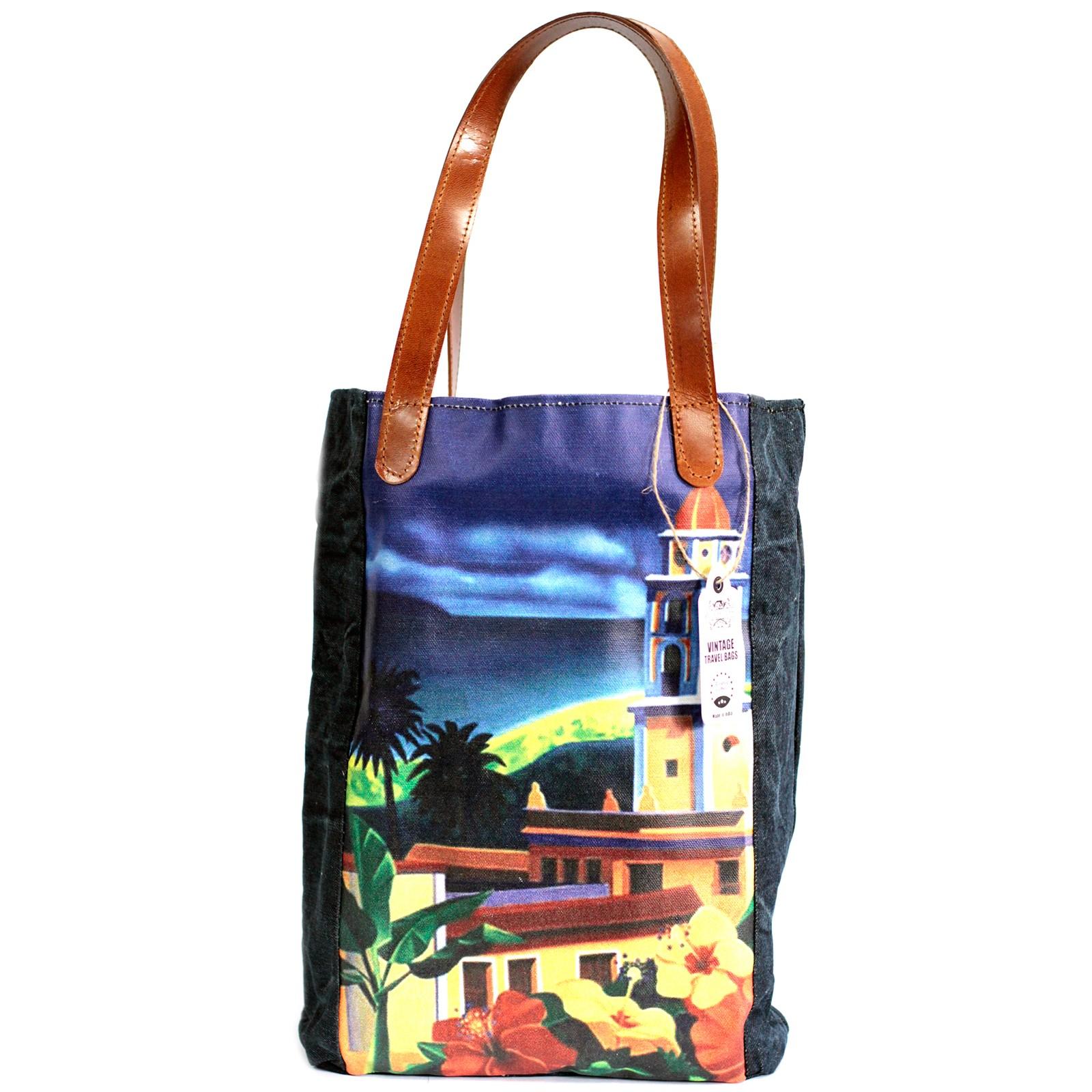 Vintage Travel Bag - Cuba