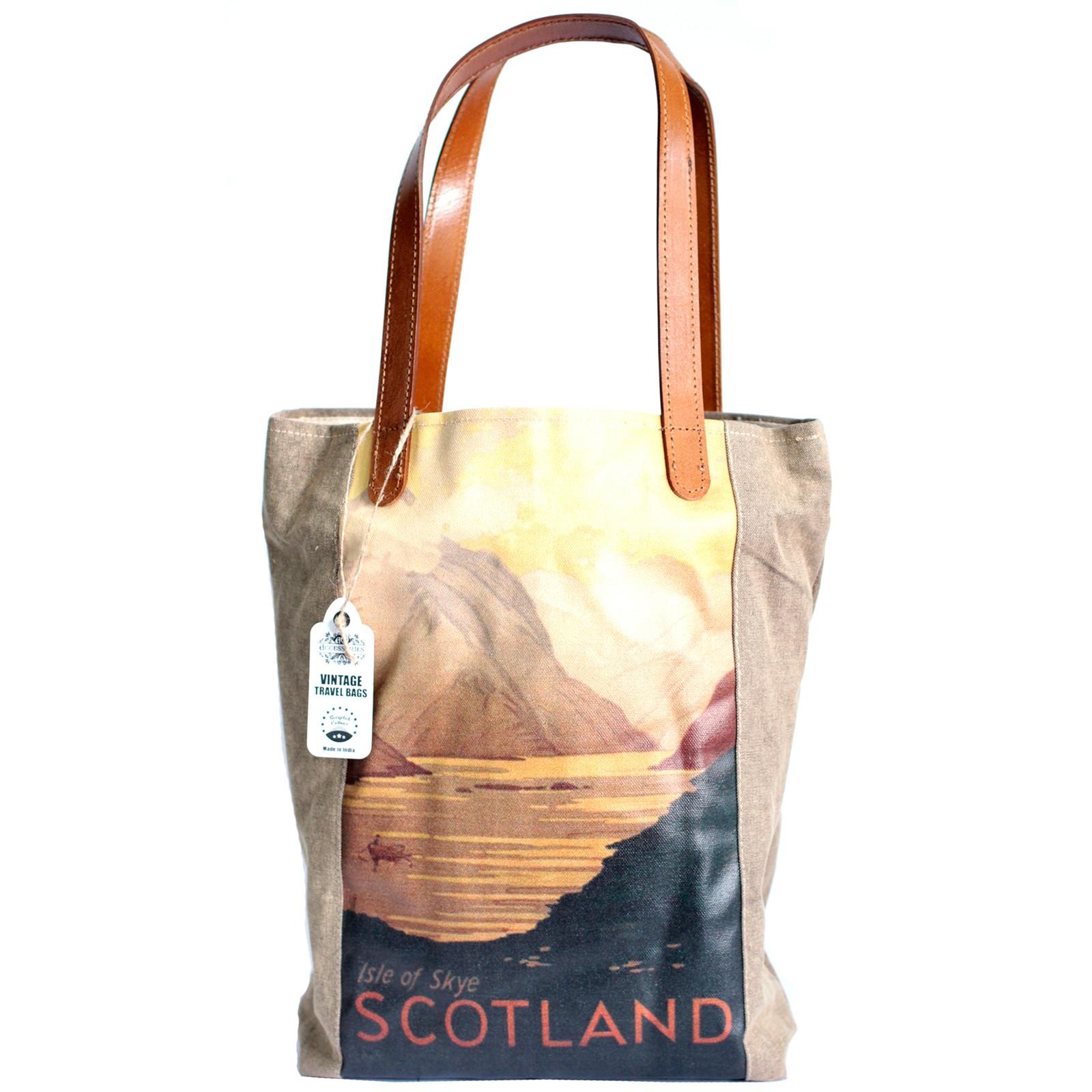 Vintage Travel Bag - Scotland