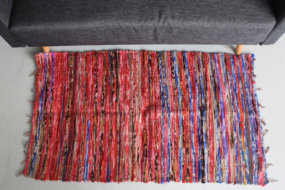 Medium Velvet Rug - 128x75cm