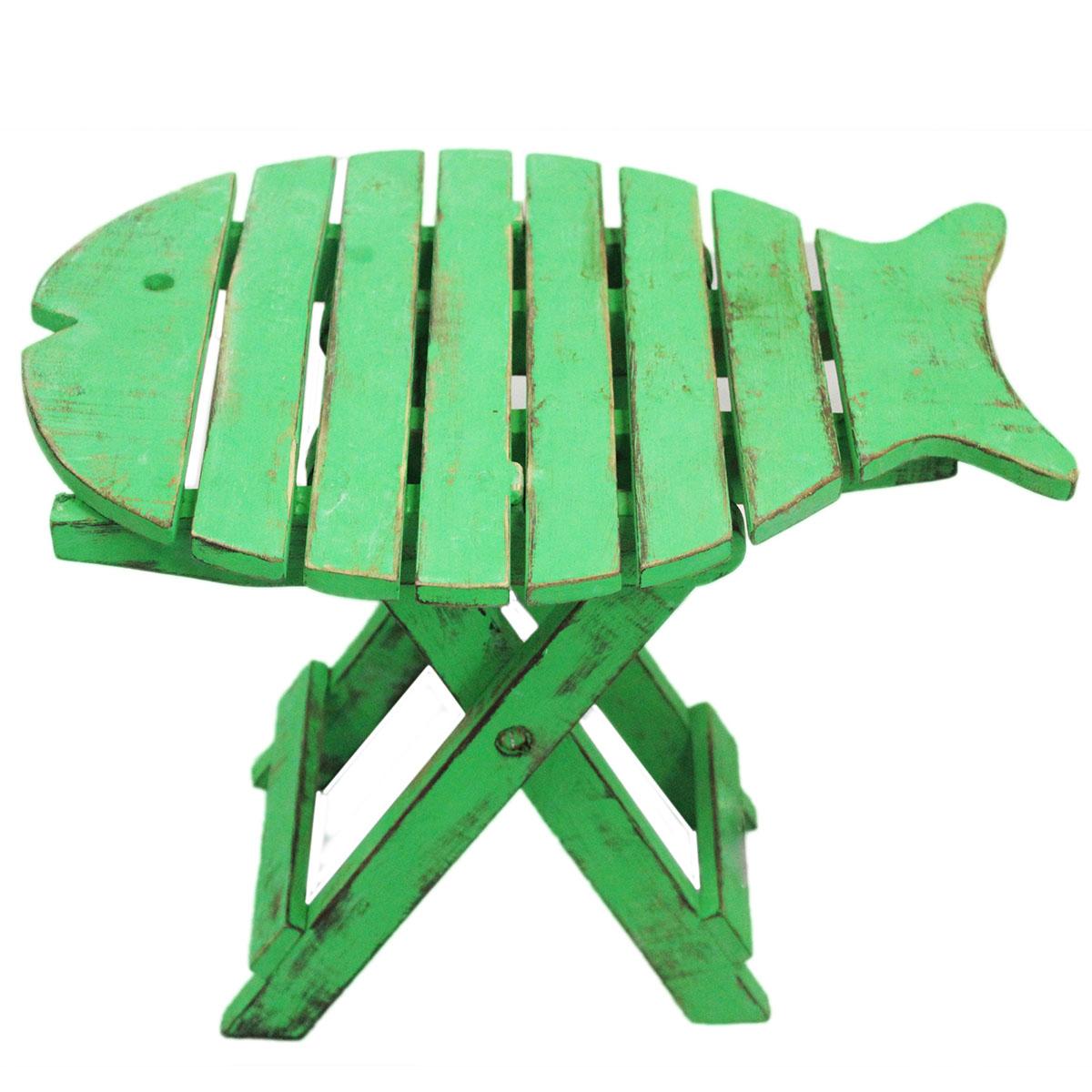 Folding Fish Chair - Green Wash