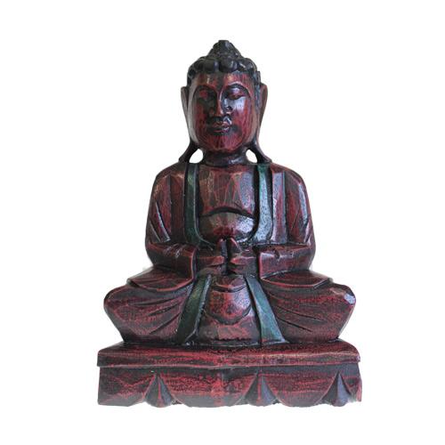 RUBY Wooden -Buddha Statue -30CM